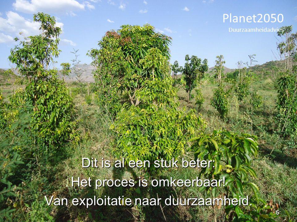 Veel definitiesVeel definities Vaak nadruk op ontwikkelingVaak nadruk op ontwikkeling Drie elementen:Drie elementen: ecologische,ecologische, economische,economische, maatschappelijke duurzaamheidmaatschappelijke duurzaamheid Begrippen: 'is goed', 'gaat lang mee', 'is gezond', 'verantwoordelijk'Begrippen: 'is goed', 'gaat lang mee', 'is gezond', 'verantwoordelijk' Planet2050 Duurzaamheidadvies Wat is 'duurzaam'.