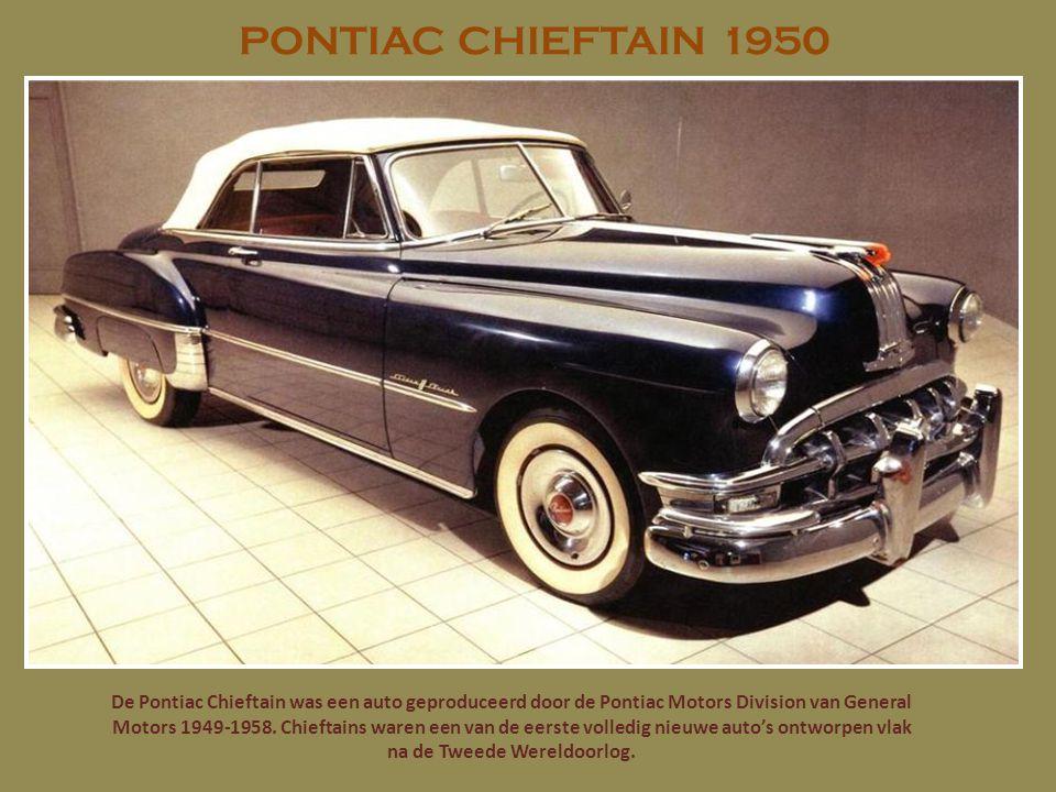 STUDEBAKER CHAMPION 1950 De Champion was een van Studebaker s best verkochte modellen vanwege de lage prijs (US $ 660 voor de twee- deurs coupe zaken in 1939), duurzame motor, en styling.