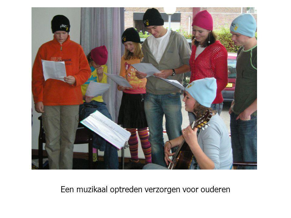 Optreden is leuk voor jezelf en voor anderen… Een muzikaal optreden verzorgen voor ouderen