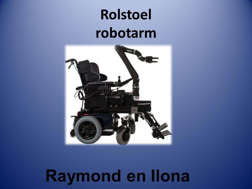 Rolstoel robotarm Raymond en Ilona