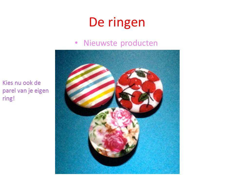 De ringen Nieuwste producten Kies nu ook de parel van je eigen ring!