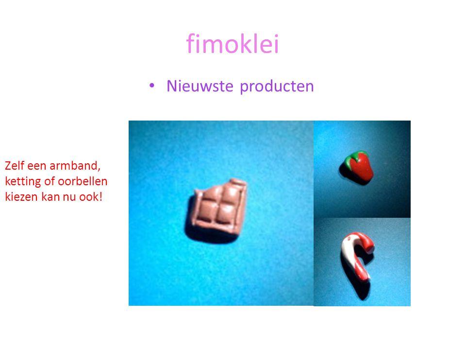 fimoklei Nieuwste producten Zelf een armband, ketting of oorbellen kiezen kan nu ook!