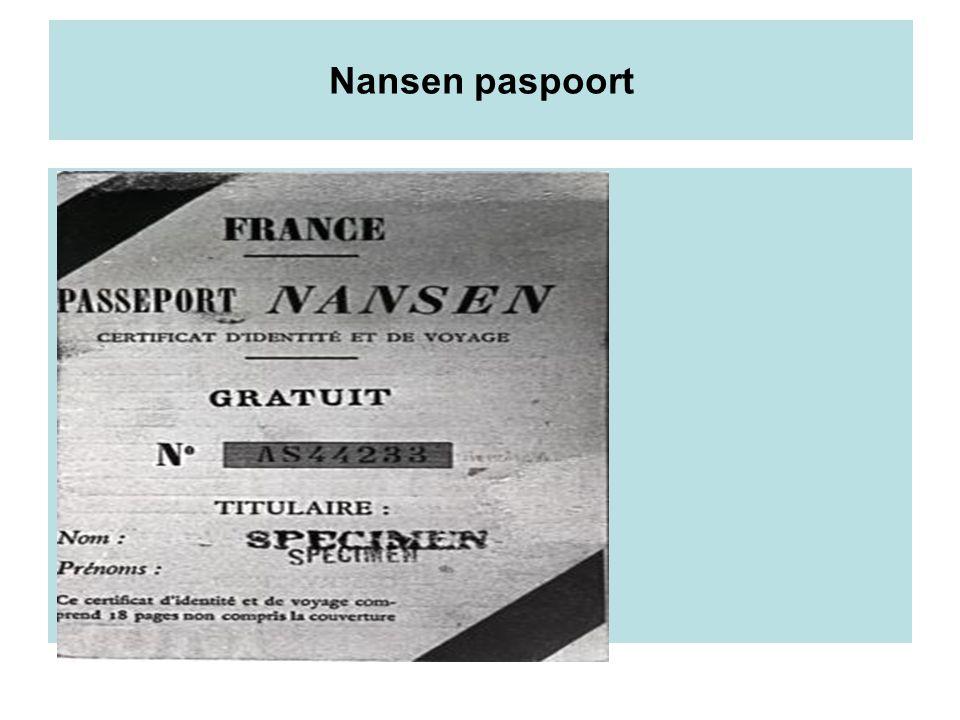 Nansen paspoort