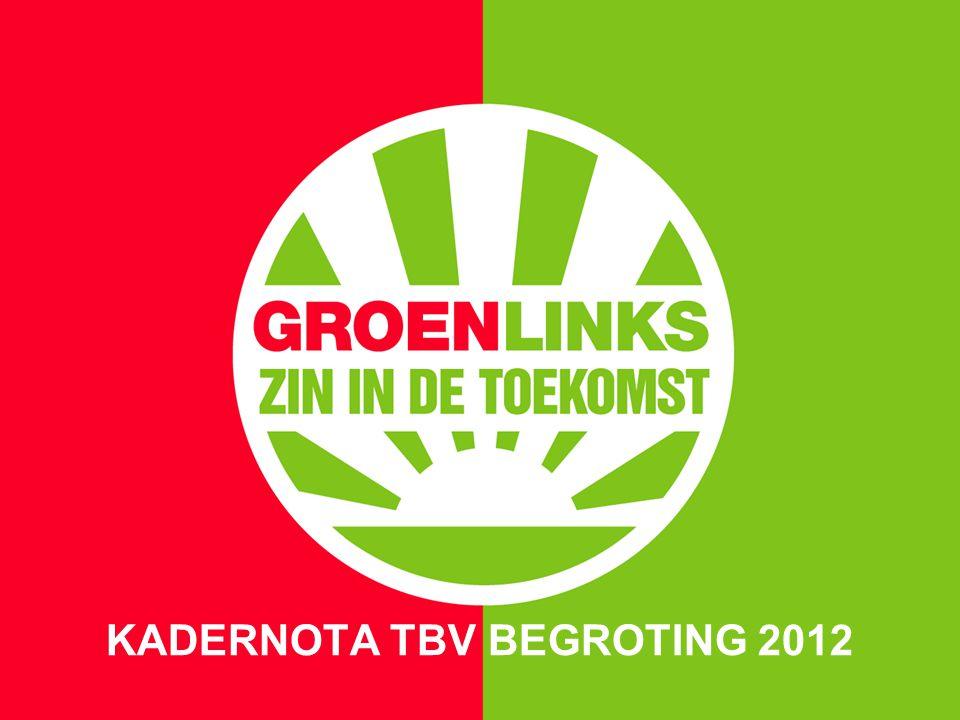 28 JUNI 2011 KADERNOTA TBV BEGROTING 2012 Maak Spijkenisse mooier, schoner, beter, socialer.