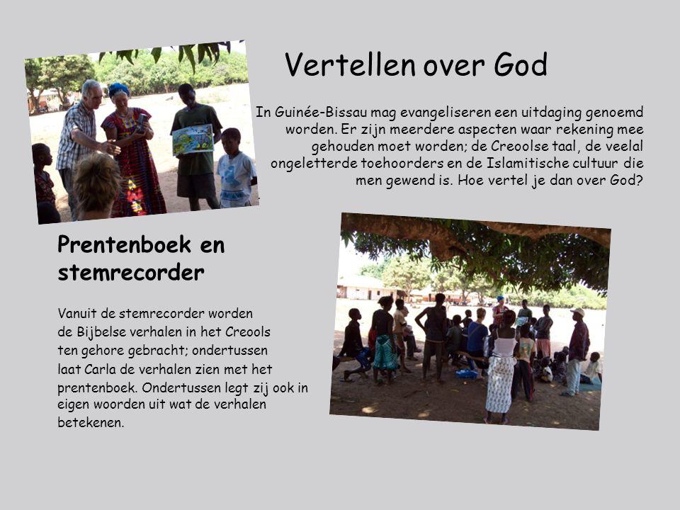 Vertellen over God In Guinée-Bissau mag evangeliseren een uitdaging genoemd worden.