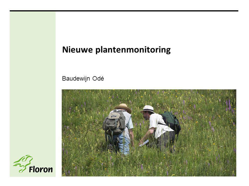 Nieuwe plantenmonitoring Baudewijn Odé