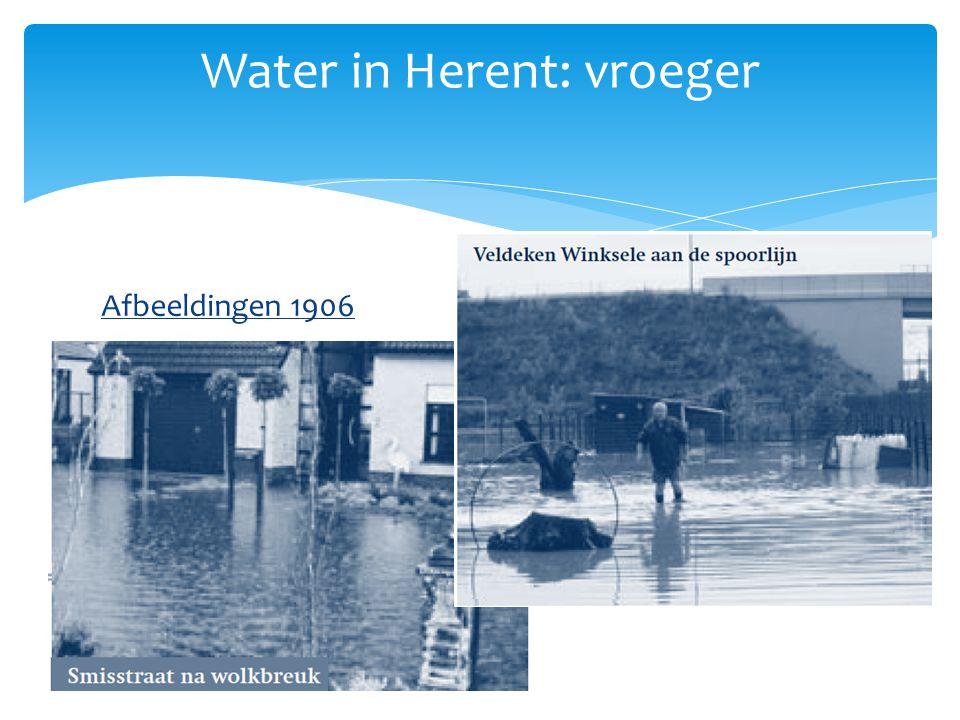 Afbeeldingen 1906 Water in Herent: vroeger