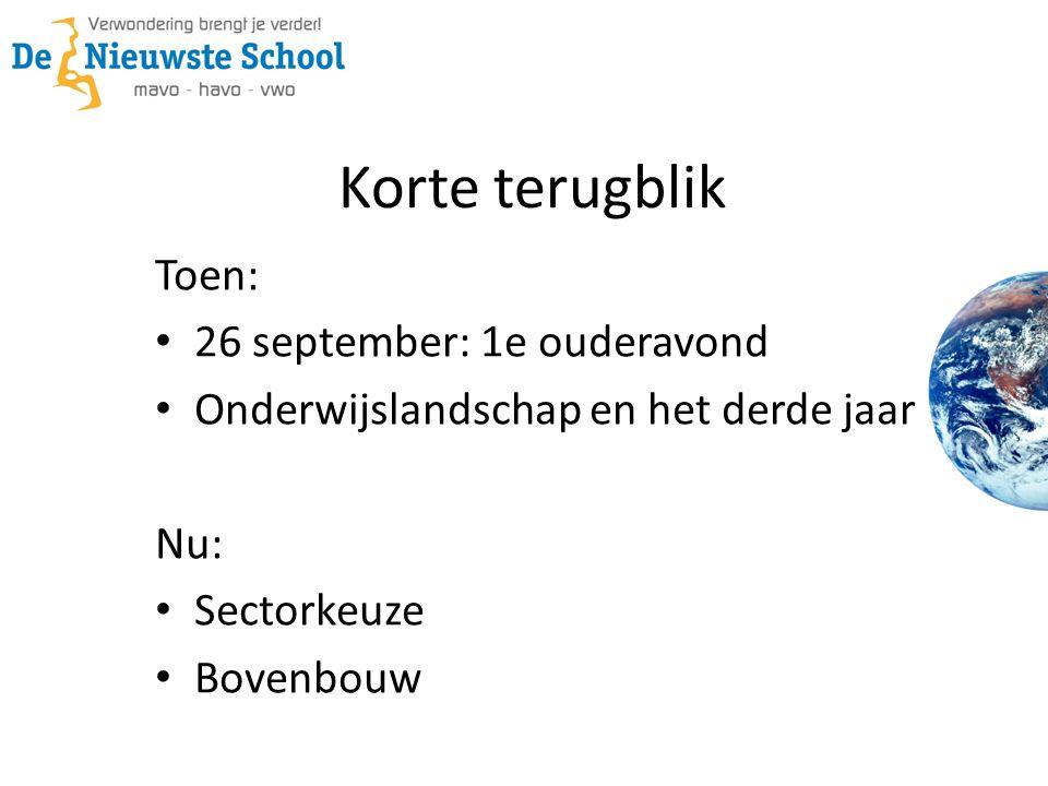 Traject Tot nu toe ondernomen: LOB week Studiebeurs Eindhoven Vanaf nu: TijdspadTijdspad tot de sectorkeuze