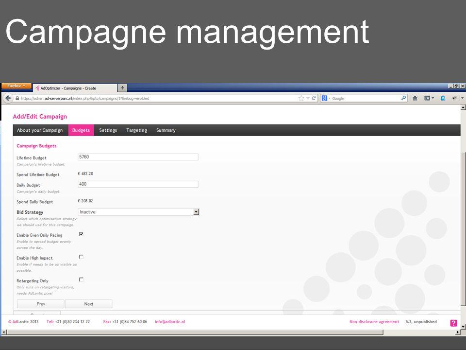 Campagne management DIY