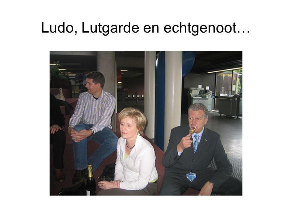 Ludo, Lutgarde en echtgenoot…