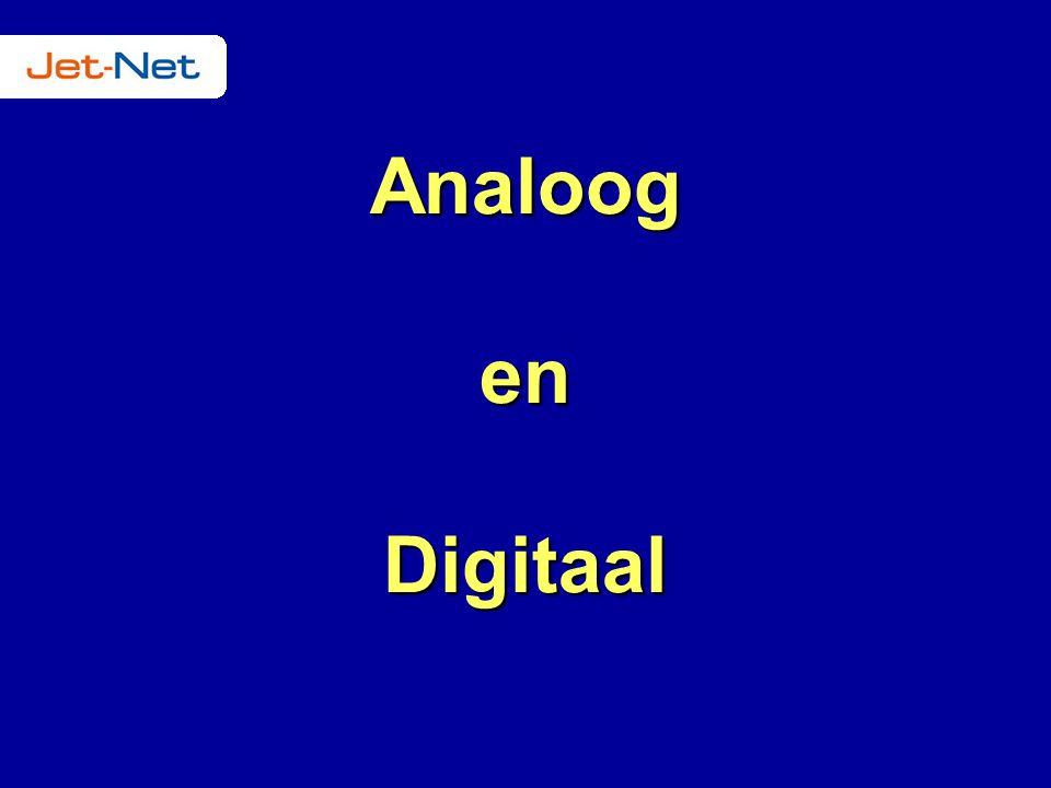 Analoog en Digitaal