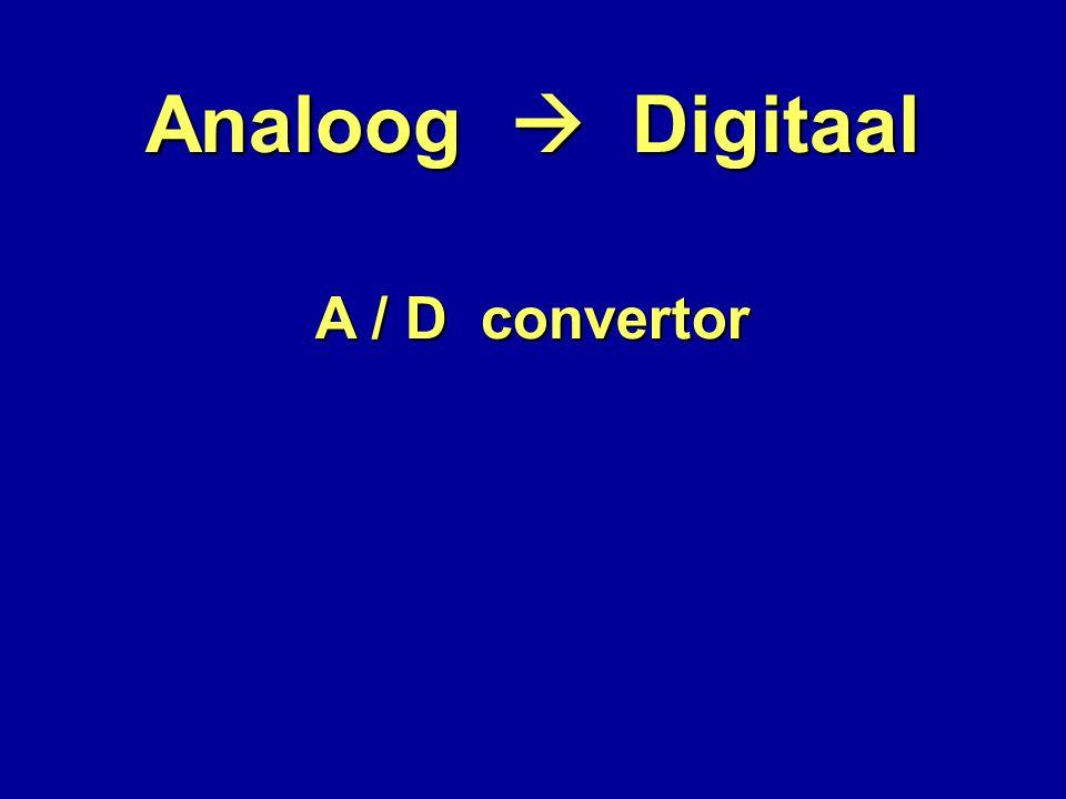 A / D convertor