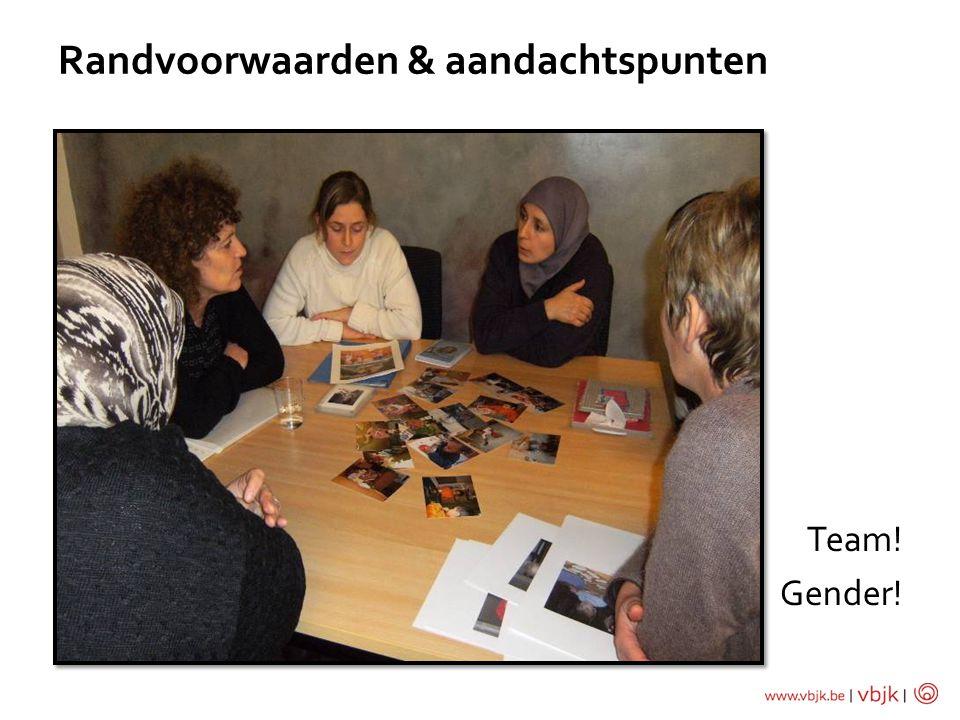 Team! Gender! Randvoorwaarden & aandachtspunten