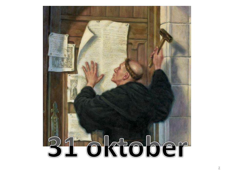 tegenover traditie en kerkleer ALLEEN DE SCHRIFT tegenover verdiensten: ALLEEN GENADE tegenover werken van de mens: ALLEEN GELOOF 3