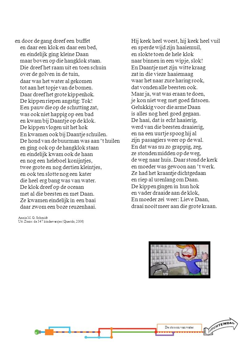 4.Regen, regen Jan Hanlo Uit: Verzamelde gedichten (Uitgeverij G.