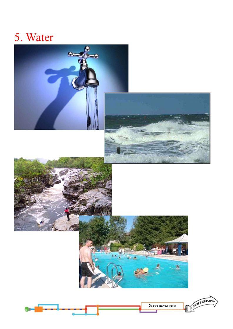 5. Water De stroom van water