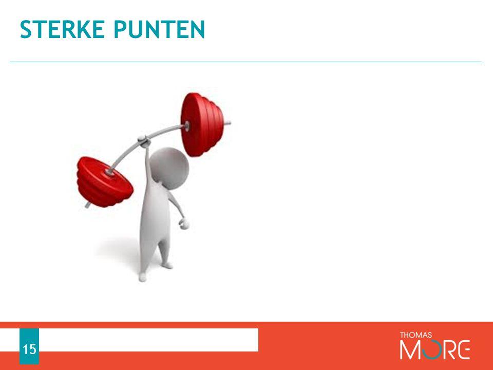 STERKE PUNTEN 15