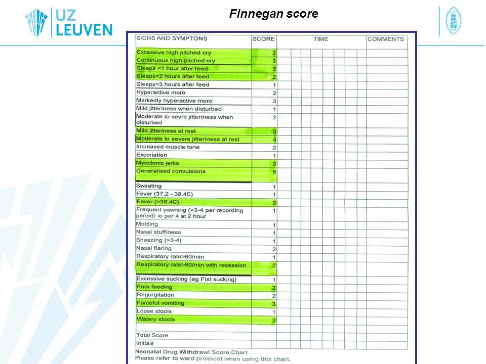 Finnegan score