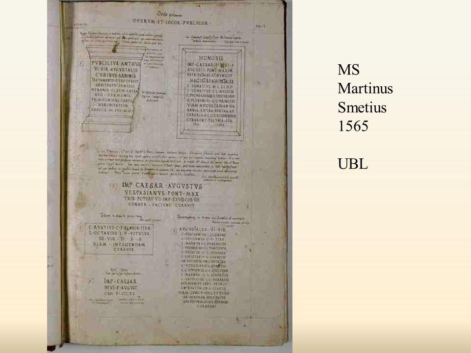 MS Martinus Smetius 1565 UBL