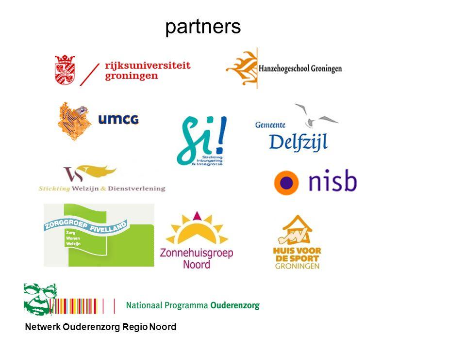 Netwerk Ouderenzorg Regio Noord partners