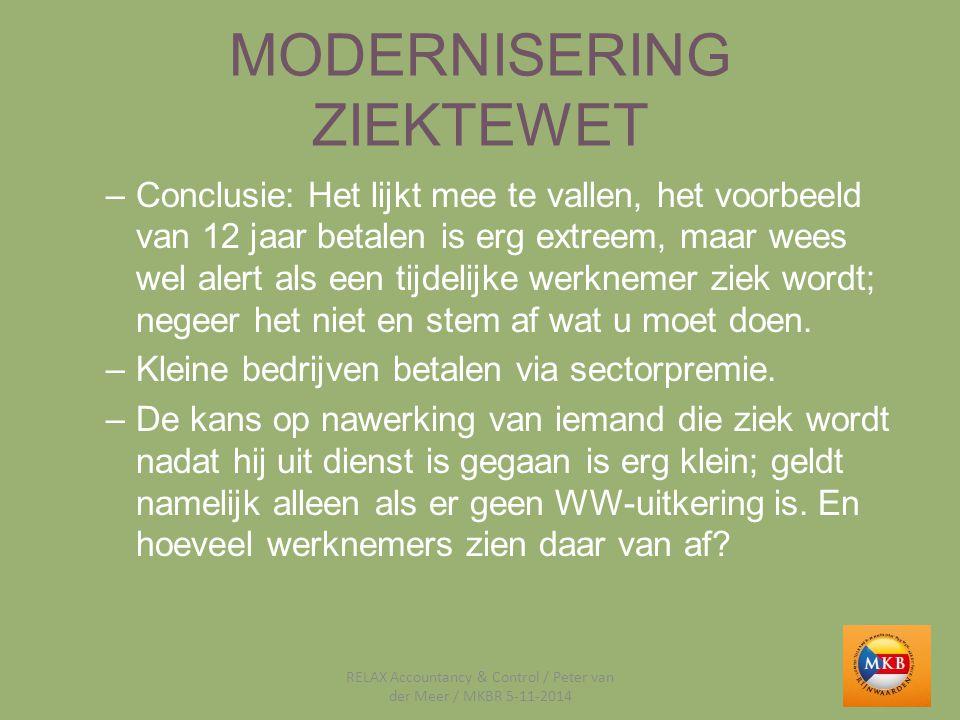 WERKKOSTENREGELING Bedoeld als vereenvoudiging en om administratieve lasten te verlagen; helaas op typisch Nederlandse wijze door vele uitzonderingen toch weer ingewikkeld.