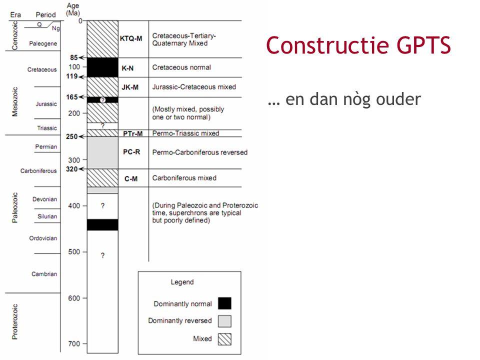 … en dan nòg ouder Constructie GPTS