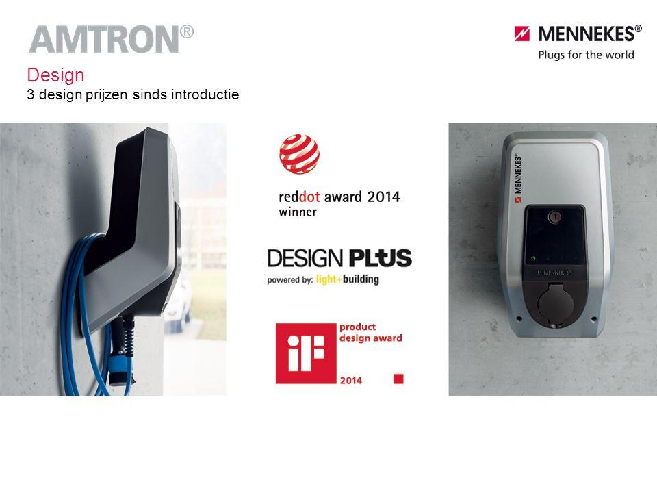 Design 3 design prijzen sinds introductie