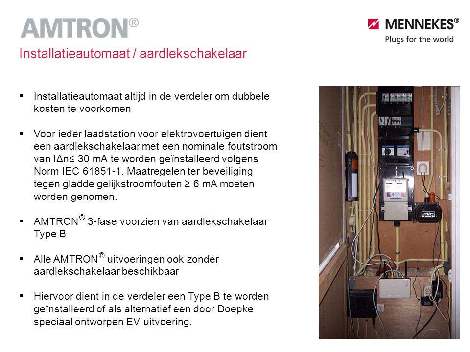 Autorisatie - MENNEKES Charge App Lokaal per AMTRON lader ®