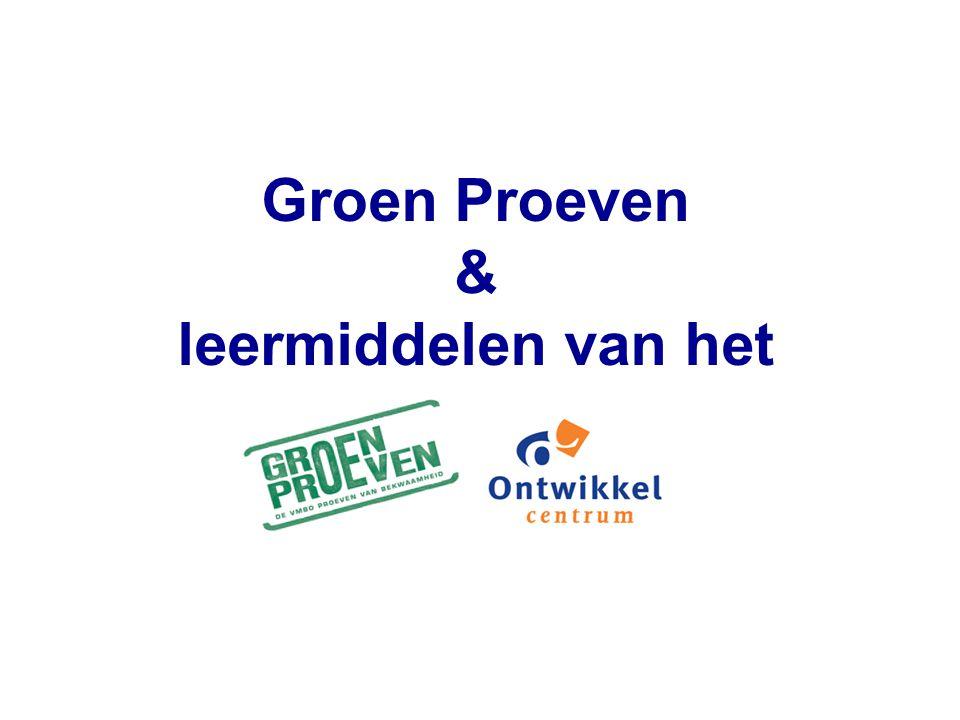 Leermiddelen i.r.t.PvB en OGW 1. analyse PvB('s) 2.