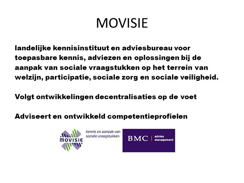 MOVISIE 1.Is zichtbaar en gaat op mensen af 2. Verheldert vragen en behoeften 3.