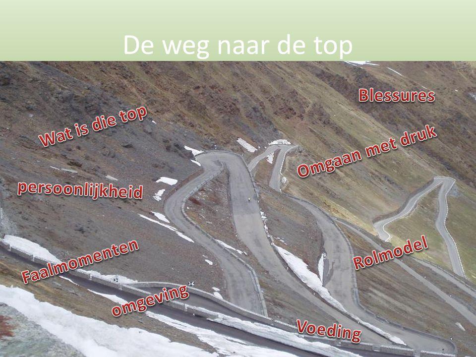 De weg naar de top