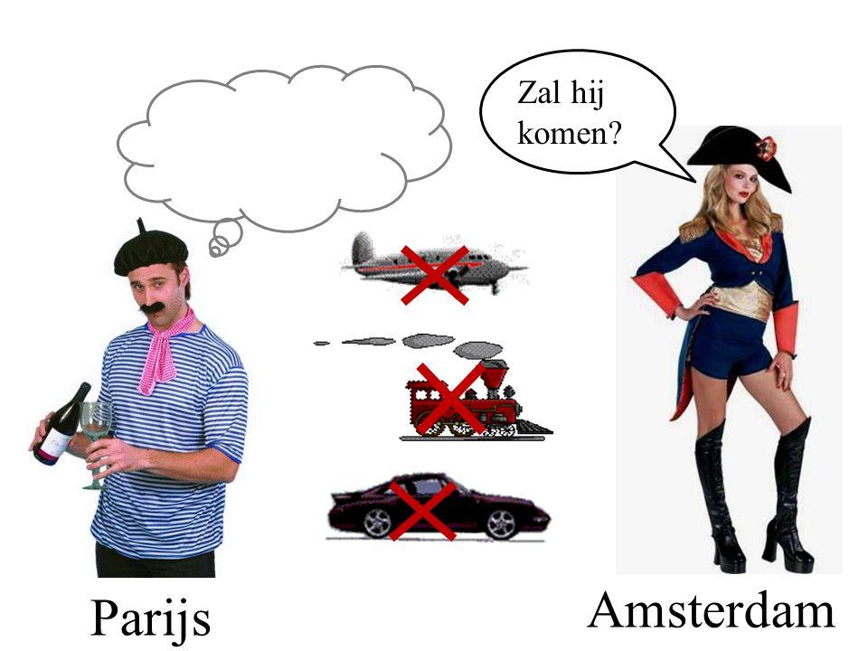 Parijs Amsterdam Zal hij komen?