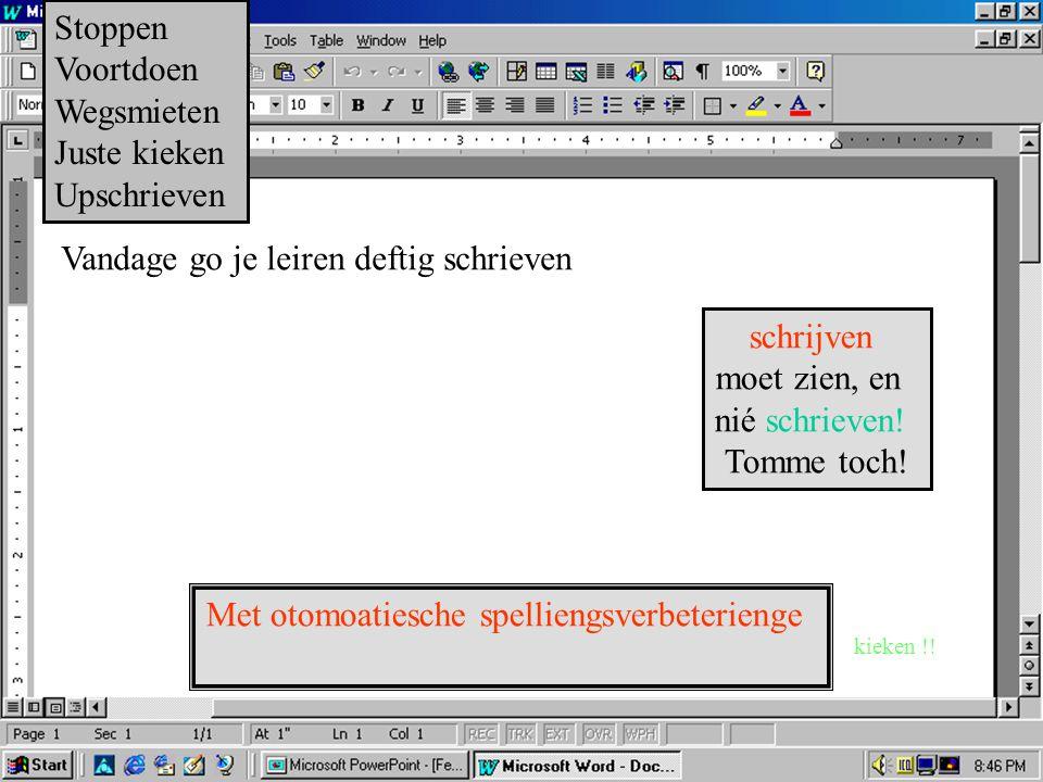 Schriefprogramma Winwoort.hexe Versie Gunst 3.elf718.jg Alle regten voorbehoeden…enzovoort, je wit wel... Seriennummer:4711-08/15 - met je muis klikke