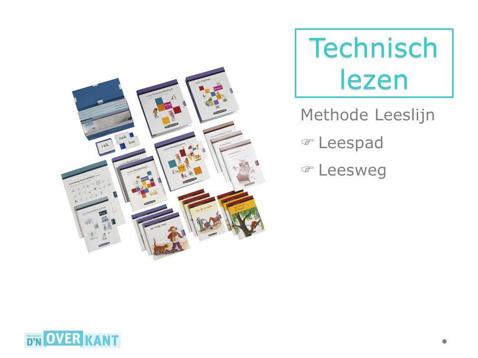Technisch lezen Methode Leeslijn  Leespad  Leesweg