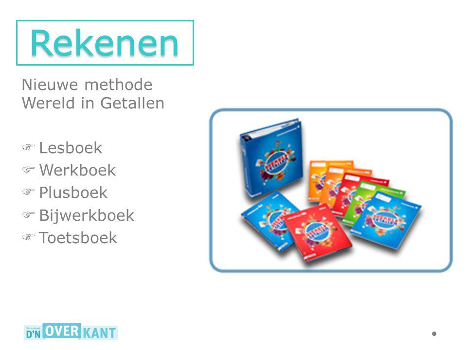 Nieuwe methode Wereld in Getallen  Lesboek  Werkboek  Plusboek  Bijwerkboek  Toetsboek