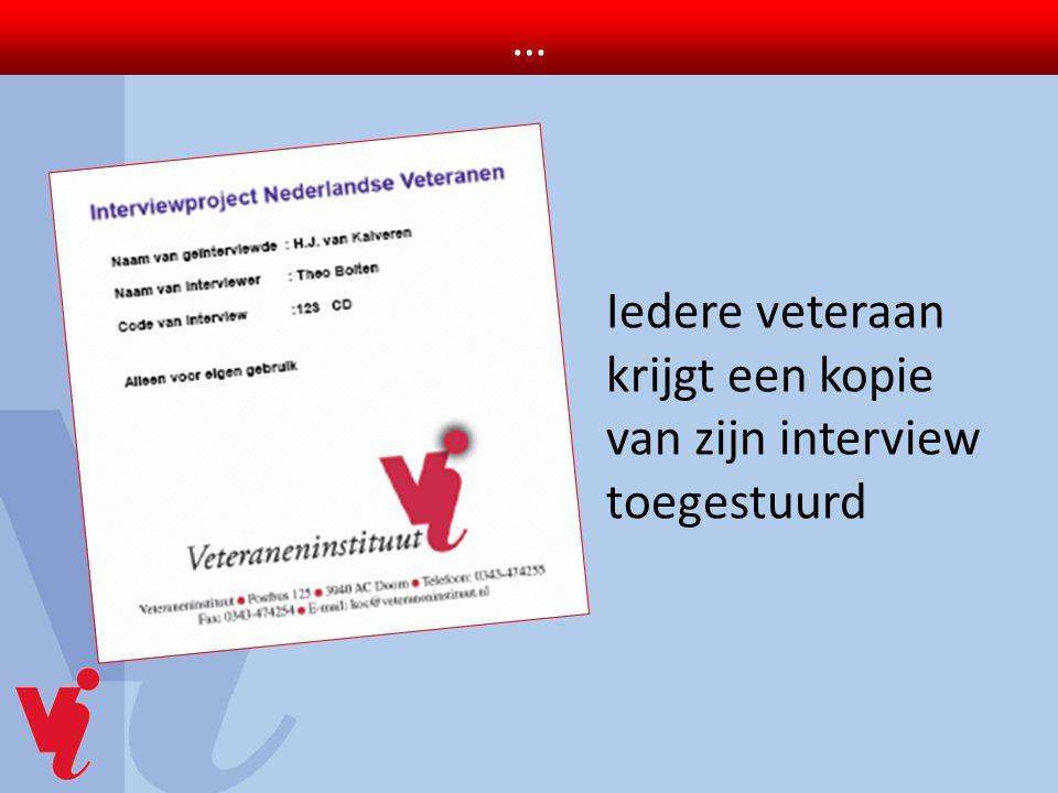 14 november 2009 Officierscasino Soesterberg Publieksdag Interviewproject Nederlandse Veteranen