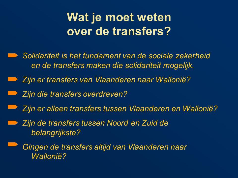 Wat je moet weten over de transfers.