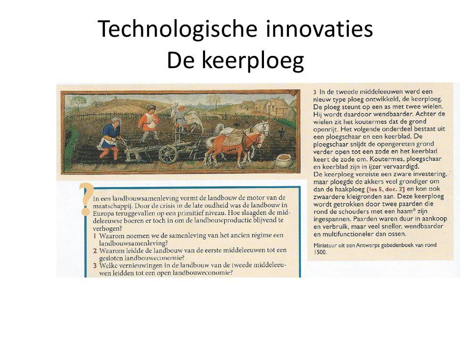 Technologische innovaties De keerploeg