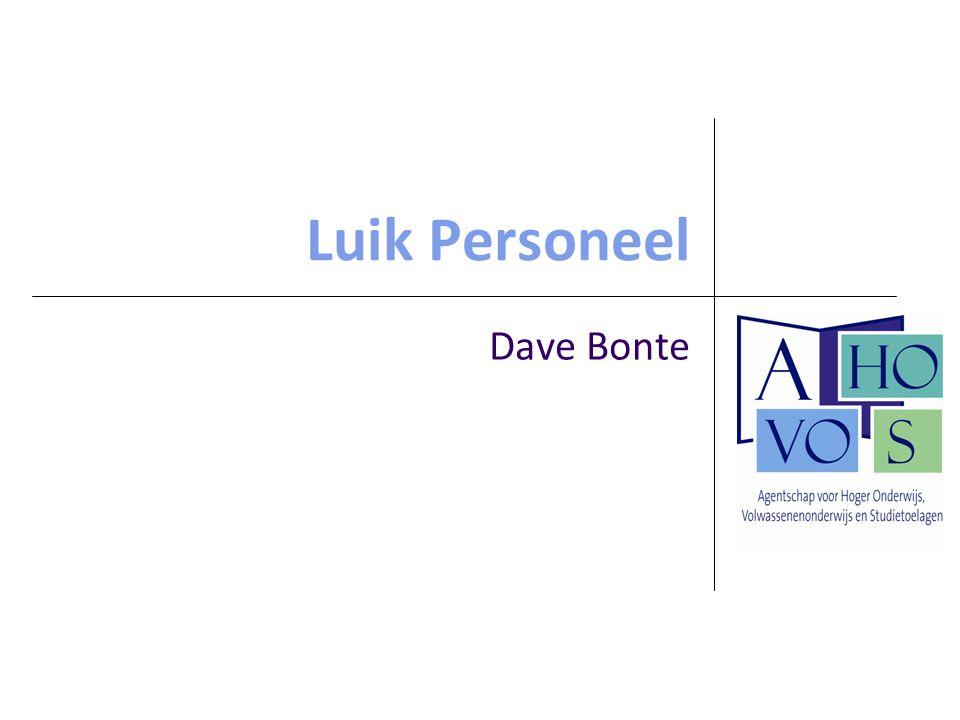 Luik Personeel Dave Bonte
