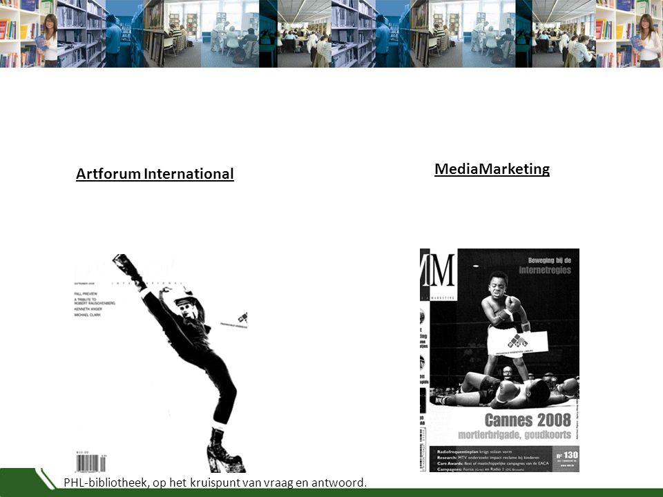 PHL-bibliotheek, op het kruispunt van vraag en antwoord. Artforum International MediaMarketing