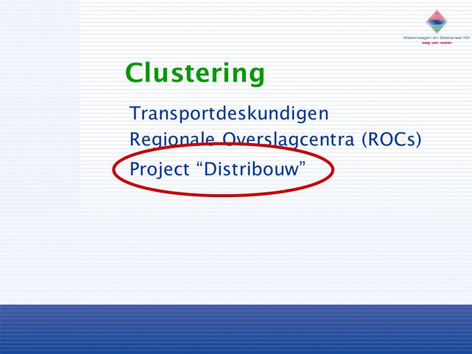 Clustering Regionale Overslagcentra (ROCs) Transportdeskundigen Project Distribouw
