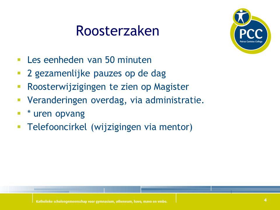 Kennismaken met de mentoren  3M1 : Mevr.van Zijl/mevr.