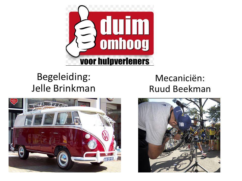 Mecaniciën: Ruud Beekman Begeleiding: Jelle Brinkman