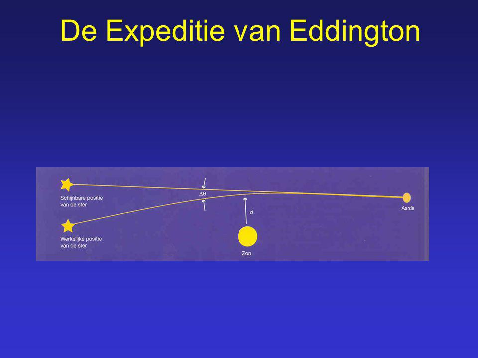 De Expeditie van Eddington
