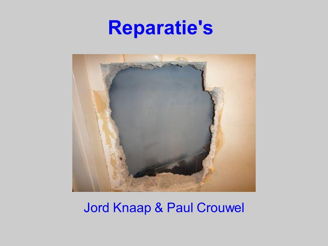 Reparatie s Jord Knaap & Paul Crouwel