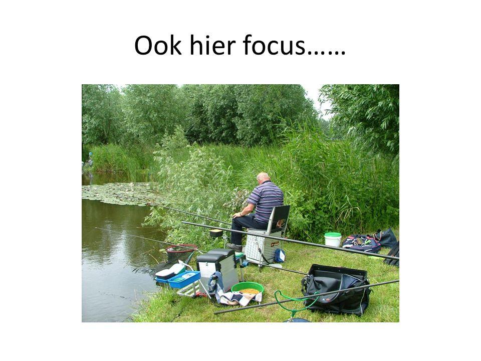 Ook hier focus……