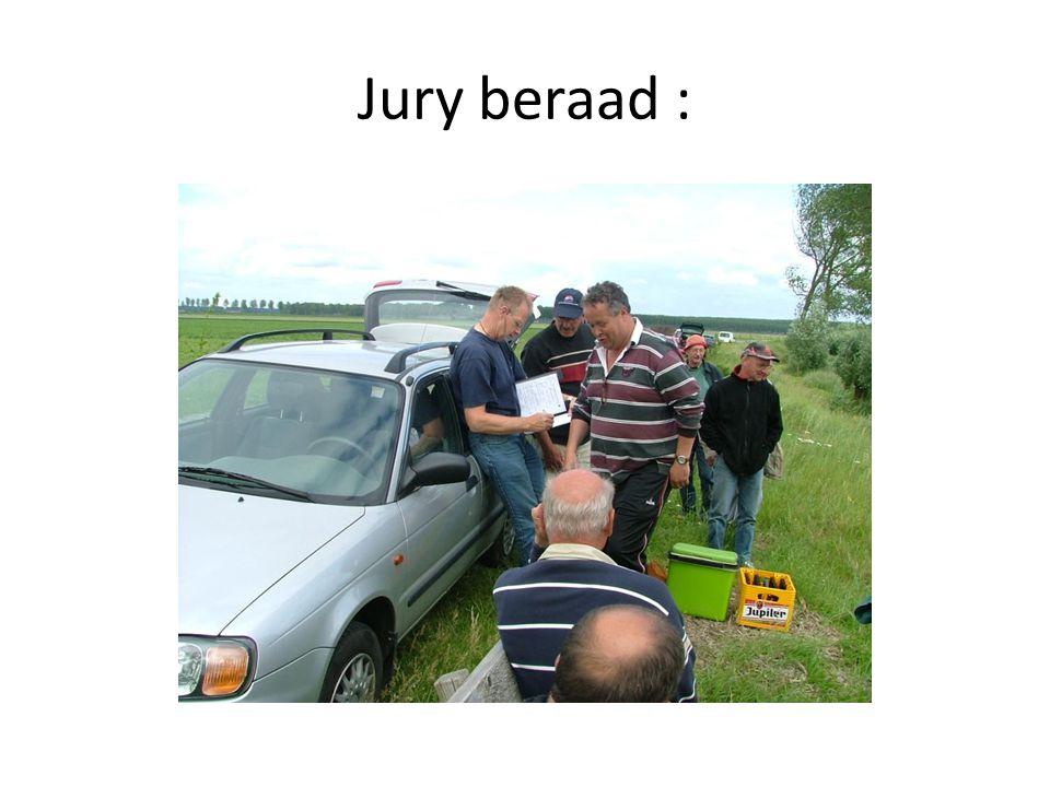 Jury beraad :