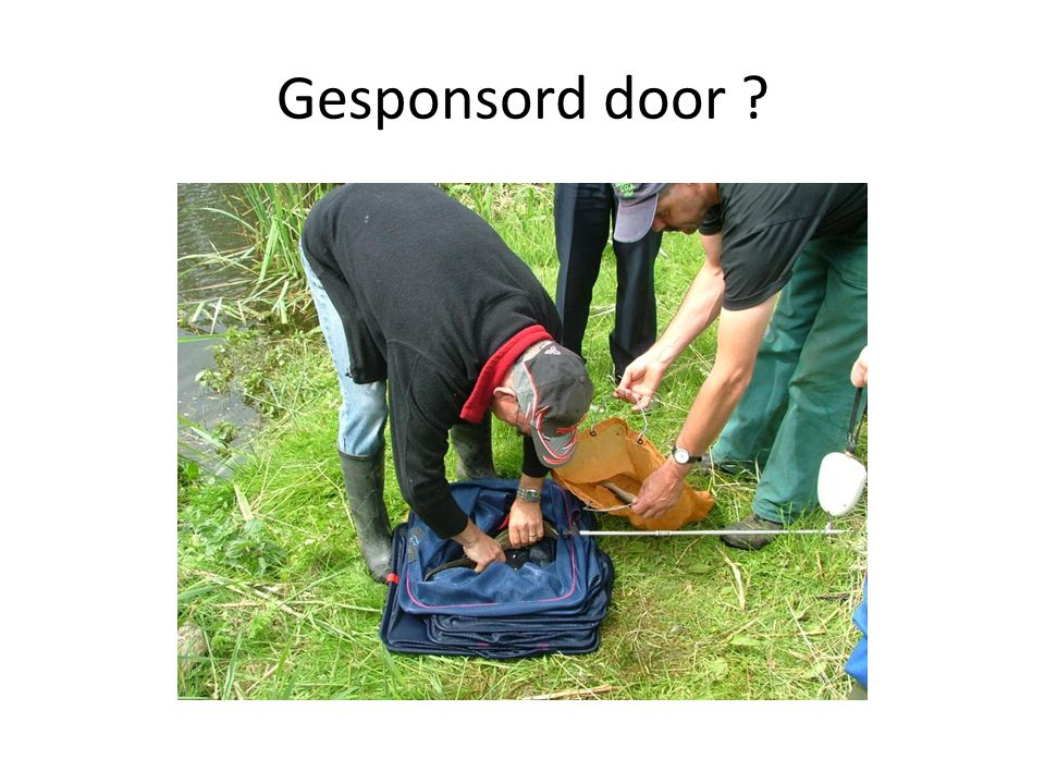Gesponsord door ?
