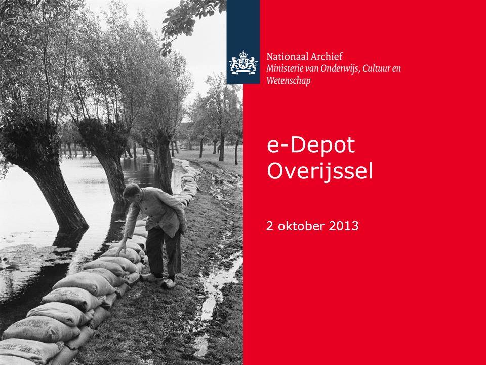 e-Depot Overijssel 2 oktober 2013