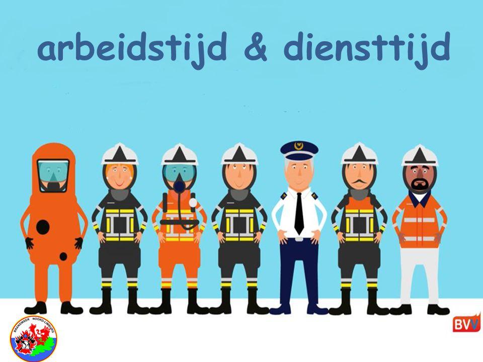 """Brandweerhervorming BVV """" arbeidstijd & diensttijd"""